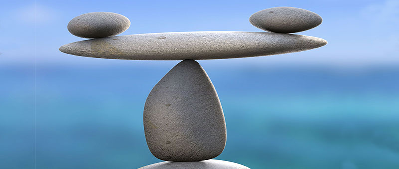life balance, various size stones balanced on each other